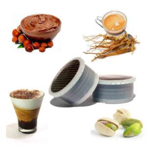 Capsules compatibles Espresso Point® - Boissons gourmandes Dolce Vita