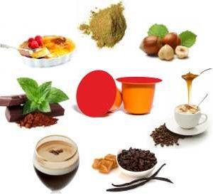 Capsules compatibles Nespresso® - Boissons gourmandes Dolce Vita